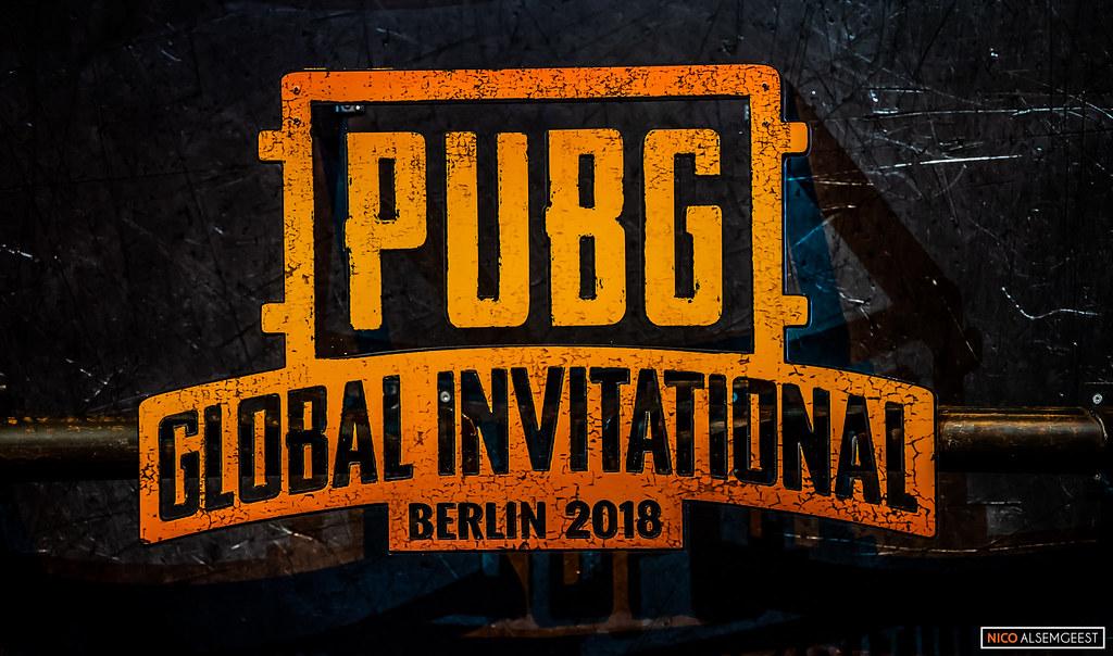 PUBG Global Invitational Berlin 2018