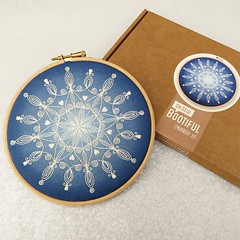 Another of this years new Christmas designs is the 'Snowflake Mandala' Despite looking delicate and intricate it is a nice relaxing project as its made up of just two stitches- Back Stitch and Satin Stitch 😍 These kits make a great gift for a c (ohsewbootiful) Tags: ifttt instagram embroidery etsy etsyuk gifts giftsforher homedecor hoopart fiberart handembroidery handmade etsyseller embroideryhoop shophandmade handmadegifts decor wallhanging bestofetsy instaart hoopsofinstagram madebyme stitchersofinstagram