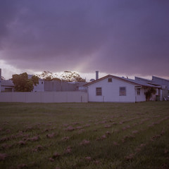 currumbin (J.K.Stevens) Tags: currumbin canoscan manual mamiyac220 kodak kodakportra160 mamiya mediumformat goldcoast landscape light streetscape 120mm 6x6 sekor80mmf28 tlr twinlensreflex vintagecamera film