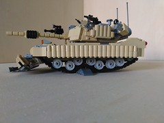 Lego M1A3 Abrams SEP V.3-TUSK 2 MBT (4) (Parm Brick) Tags: lego military army moc afol tank vehicle abrams tusk2 sep3 usa m1a3 m1a3abrams