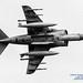 AV-8B HARRIER UNDERBELLY IN GREYSCALE