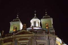 cupula y torres exterior de noche Real basílica de San Francisco el Grande Madrid 01 (Rafael Gomez - http://micamara.es) Tags: cupula y torres exterior de noche real basílica san francisco el grande madrid