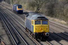 47812 43168 43032 bb Cossington 220318 D Wetherall (MrDeltic15) Tags: railoperationsgroup class47 47812 gwr hst scotrail 43168 43032 cossington midlandmainline