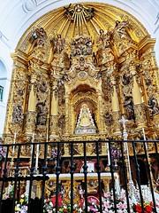 Altar mayor y retablo interior Santuario de la Virgen de El Rocío Almonte Huelva (Rafael Gomez - http://micamara.es) Tags: imagen talla altar mayor y retablo interior santuario de la virgen el rocío almonte huelva