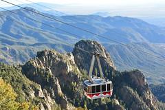 Albuquerque cable car (M McBey) Tags: sandia albuquerque tramway gondola mountain cablecar high