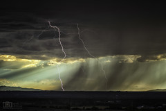 Indeed it did (Dave Arnold Photo) Tags: nm nmex newmex newmexico loslunas adelino tome socorro riogrande valley lightning lightening desert storm stormy thunderstorm thunder image pic us usa picture severe photo photograph photography photographer davearnold davearnoldphotocom night scenic cloud rural party summer badweather top wet canon 5d mkiii 24105mm huge big valenciacounty landscape nature monsoon outdoor weather rain rayos cloudy sky cloudburst raincolumn rainshaft season mountains southwest monsoons strike albuquerque abq river