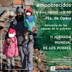 """16.11.18 Jornada Mundial de los Pobres. Acto público """"Empobrecidos""""."""