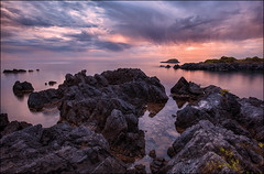Il canto di Orfeo (Gio_guarda_le_stelle) Tags: sunset orfeo seascape i 4x4 italy afterglow autumn horizon sea quiet peaceful