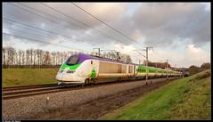 SNCF TMST 3224/3213 @ Enghien (Steven De Haeck) Tags: izy thalys tmst transmanchesupertrain enghien edingen hainaut henegouwen belgië belgique lijn1 lgv hsl hst tgv highspeedtrain hogesnelheidstrein
