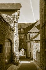 Typical Correze alley (LionelRobicPhotographie) Tags: alley ruelle village corrèze correze