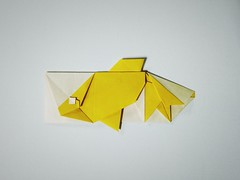 金鱼筷袋 (guangxu233) Tags: paper art paperart paperfolding handmade origami origamiart 折纸 折り紙 折り紙作品