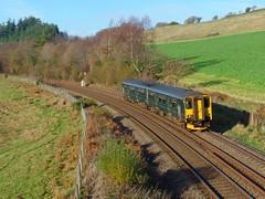 150202 Restormel (Marky7890) Tags: gwr 150202 class150 sprinter 2c69 restormel railway lostwithiel cornwall cornishmainline train
