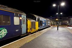 37403 arrived Lowestoft on 2J88 1902 from Norwich 17/1/2019 (Paul-Green) Tags: class 37 374 37403 37407 flickr canon camera jan 2019 lowestoft 2j88 norwich