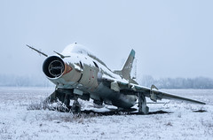 Abandoned Soukhoï Su-22 (NأT) Tags: urss soukhoï soukhoi aviation plane airpla airplane fight war guerre sovi soviet soviétique su22 lost light snow snowing snowy trespassing abandoned abandon abandonné abandonnée abbandonato abbandonata ancien ancienne alone zuiko explorationurbaine em1 exploration explore exploring empty explo explored rust rusty ruins rotten europe urbex urban urbain urbaine urbanexploration interior inside interdit inexplore interdite olympus omd old past photography decay decaying derelict dust decayed dusty forgotten forbidden history memories nobody neglected nature field battlefield verlassen creepy