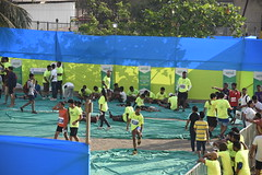 Vasai-Virar Marathon 2018 - Stretching exercises after run
