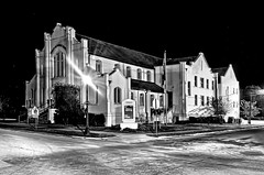Trinity United Methodist Church, 304 W Oak Street, Arcadia, Florida, USA / Built 1950 (Photographer South Florida) Tags: trinityunitedmethodistchurch 304woakstreet arcadia florida usa built1950 city cityscape urban downtown skyline desotocounty smallcity centralbusinessdistrict historical building architecture commercialproperty cosmopolitan metro metropolitan metropolis sunshinestate realestate nationalregisterofhistoricplaces pristine history streets quaint citycenter arcadiahistoricdistrict theoldoperahouse stateroute70 us17 antiquedistrict