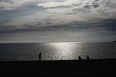 Pescadores en Red (Tomás Hornos) Tags: almuñécar atardecer contraluz nubes nuage clouds cielo sky reflejo rayosdesol d7100 35mm fisedlens primelens focal length focalfija fijo nozoom playa beach pescador clavebaja fisherman fishing