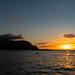 Sunset Puu Poa beach Princeville Kauai Hawaii