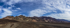 Artists Palette Drive (CraDorPhoto) Tags: canon5dsr landscape mountains extremeterrain barren clouds sky blue deathvalley california usa outdoors nature