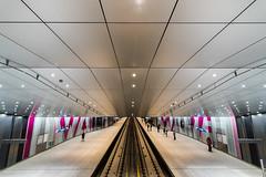 Noord-Zuid 3 (genf) Tags: metro underground europaplein rai noordzuid amsterdam architecture architectuur public traffic openbaar vervoer rails sony a99ii tamron 1530 indoor binnen