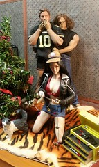 """""""When the lights stopped twinkling - A Xmas Tragedy!"""" (Cremdon) Tags: 16scale actionfigures xmas"""