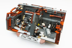 Factions 01: No-effect view (darth85) Tags: starwars lego swlego legostarwars legosw moc star wars destroyer jakku covert mission empire imperial factions remnant squad rebel minifigure minifig