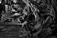 Les Flottins (joménager) Tags: évènementfête lesflottins nikonpassion nikond3 rhônealpes nuit night nikonafs70200f28 boisflotté hautesavoie lefabuleuxvillage evianlesbains sculpture thononlesbains france fr
