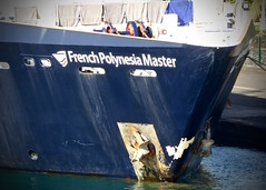Bow French Polynesia Master (chartan) Tags: bow workingboats frenchpolynesia papeete
