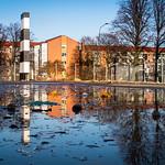 Streets of Malmö in reflection thumbnail