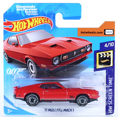 HOT-2019-003-Mustang-007 (adrianz toyz) Tags: hot wheels 2019 series adrianztoyz screentime diecast toy model diamondsareforever jamesbond 007 71 1971 ford mustang mach1