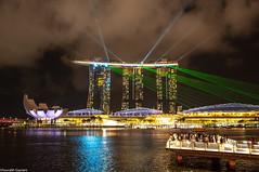 Marina_Bay_Singapore (Saurabh Gautam) Tags: lightshow lights night nightlight city singapore d90 nikkor nikon