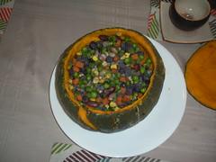 kabocha squash with vegetable filling (Danny / ixfd64) Tags: ixfd64 nikon coolpix food