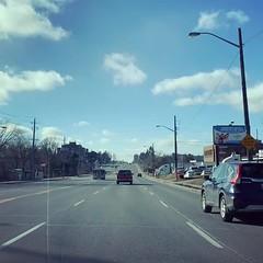 Blue horizon...!!#timelapse #intotheblue #traffic #toronto (raihan_khan86) Tags: toronto timelapse intotheblue traffic