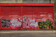 Various... (Alex Ellison) Tags: spook southlondon urban graffiti graff boobs