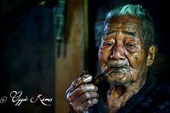 Alab Oriente Apo Todyog with Pipe Frontal Horizontal Portrait (lagal[og]) Tags: alaboriente alab elders bontoc mountainprovince lagalog oggieramos sony a6000 50mmf18