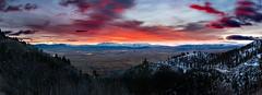Sunrise over Carson Valley