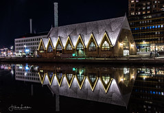 Reflections (Fredrik Lindedal) Tags: church gothenburg göteborg water reflections city cityscape cityview sweden visitgothenborg night nikon nightshot nightlights nightphoto
