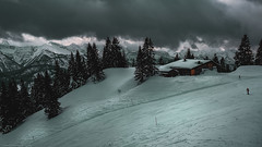 The snowy land.... (agialopoulos) Tags: mountain mountains bavaria germany brauneck winter snow forest landscape landschaft natur nationalpark natural skiing sky clouds