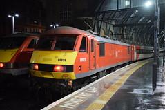 DBC 90029 @ London Kings Cross train station (ianjpoole) Tags: db cargo london north eastern railway class 90 skoda 90029 working 1d02 kings cross leeds