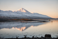Croagh Patrick (mickreynolds) Tags: 2019 croaghpatrick ireland nx500 snow