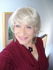 """I Don't Want To Be """"Just"""" A Woman (Laurette Victoria) Tags: blonde sweater necklace laurette woman"""
