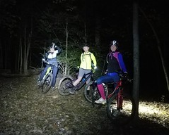 2018 Bike 180: Day 174 - Ghost Riders (mcfeelion) Tags: cycling bike bicycle mtb nightride annandaleva bike180 2018bike180 wakefieldpark