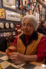 (ekoloskov) Tags: blue yaroslavl russia portrait oldwoman beer cider pub bar pentax 31mmlimited 31mm pentax31mmlimited pentaxk1markii people
