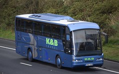 YN57AEM  K&B Travel, Penrith (highlandreiver) Tags: yn57aem yn57 aem kb travel penrith cumbria neoplan bus coach coaches m6 wreay carlisle