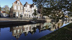 reflections (carol_malky) Tags: reflections neartowncentre hoorn northholland oldbuildings canal sunnyautumnday