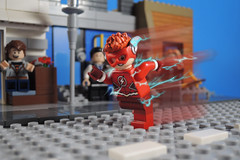 Wally Rebirth + Update (-Metarix-) Tags: lego minifig dc comics comic wally west teen titans rebirth universe flash speedforce running central city coast