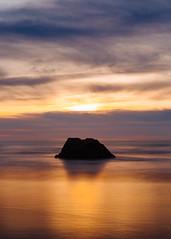 Slow It Down (John Westrock) Tags: longexposure cannonbeach oregon oregoncoast pacificnorthwest sunset ocean pacificocean pnw rock beach sky colorful smooth canoneos5dmarkiii canonef2470mmf28lusm bwnd1000x johnwestrock