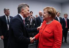 Reunión Bilateral - Mauricio Macri y Angela Merkel - Día 2