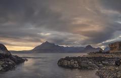 Elgol in the mood (Captain Nikon) Tags: elgol isleofskye skye scotland seascape moody longexposure lochscavaig strathairdpeninsula scottishhighlands scottish uk greatbritain landscapephotography nikonphotography thecullins