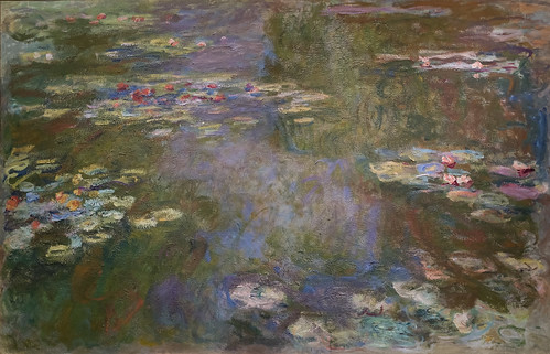 Claude Monet, Water Lily Pond, 1917,19 1/27/18 #artinstitutechi #artmuseum #chicago